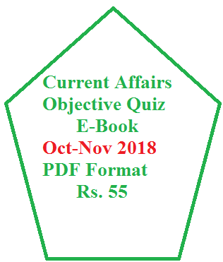 Objective Current Affairs Questions -MCQ (1-15 August, 2018) | GS TIMES